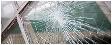 Hyndburn Smashed Glass